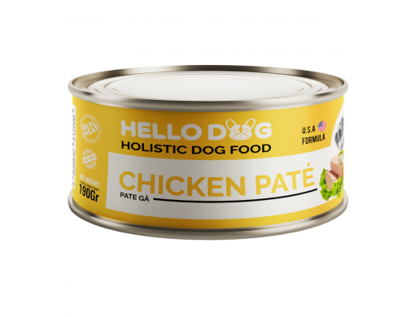 Ảnh của Hello Dog Chicken Pate 850g